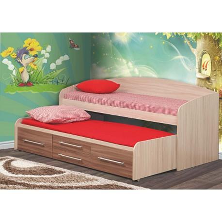 Кровать двухуровневая Адель 5