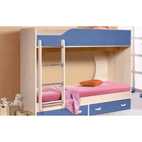 Двухъярусная кровать Крепыш 1